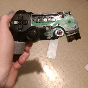 manette PS4 un peu abîmée...