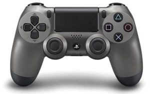 manette ps4 steel black