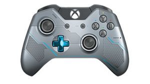 manette Xbox One halo 5 grise