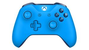 manette xbox one bleue