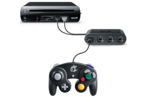 Exemple de branchement sur Wii U