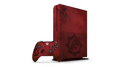 console Xbox One S édition limitée gears of war 4 et sa manette personnalisée