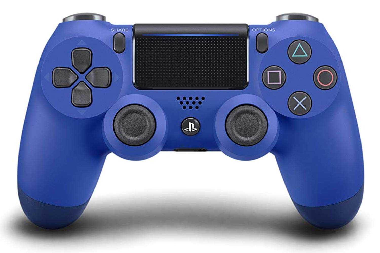 dualshock 4 bleue