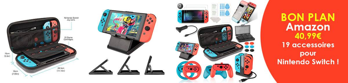 Offre accessoires switch